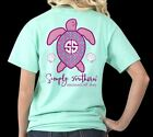 Mermaid Off Duty Save The Turtles Simply Southern Tee Shirt
