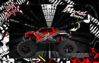 TRAXXAS X-MAXX HOP UP BODY GRAPHIC WRAP ACCENT KIT 'WAR MACHINE' FOR UNBREAKABLE