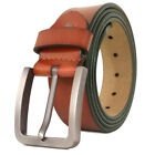 Mens Belt Genuine Leather Belts For Dres фото