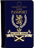 More images of SCOTTISH PASSPORT COVER HIGH QUALITY PU LEATHER FREE DELIVERY