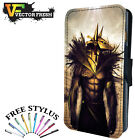 EGYPTIAN ANUBIS WARRIOR SOLDIER - Leather Flip Wallet Phone Case Cover