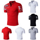 Classic Men's Short Sleeve T-Shirts Casual Polo Shirt Tops Leisure and fashion