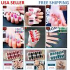 NAIL WRAPS STICKERS - Full Self Adhesive Polish Foils Decoration Art Decals $2.08 USD on eBay