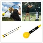 Baligh Golf Swing Trainer Indoor Practice Power Strength Tempo Flex Training Aid