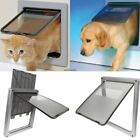 Hight Quality 17.3'' Large Pet Cat Puppy Dog Supplies Lock Safe Flap Door Gate L