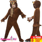 Child Teddy Bear Costume Book Week Animal Kids Zoo Party Boys Girls Jumpsuit