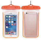 Waterproof Fluorescent Phone Mobile Case Cover Swimming Dry Bag Pouch For iPhone