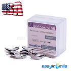 50Pc Dental Metal Matrices Sectional Contoured Matrix Refill Package S/M/L USA