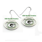 Green Bay Packers Football Logo Pendant Earrings With 925 Earring Wires $7.99 USD on eBay