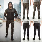 US Men Long Casual Sports Pants Gym Slim Trousers Running Jogger Gym Sweatpants