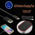 LOT 10 Qi Wireless Bound Charger Charging Pad Samsung Galaxy Note 8 S8 iPhone X 8