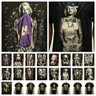 Fashion Graphic T-Shirt Marilyn Monroe Casual Hipster Printed Funny Crew Neck T image