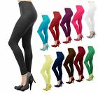 Внешний вид - Women Basic Seamless Solid Stretch Ankle Length Leggings