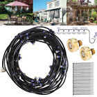 5-20M Outdoor Misting System Reptile Cooling Water Garden Patio Spray Sprinkler