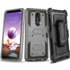 LG Stylo 5/4/3/2 Plus Belt Clip Stand Holster Phone Case Cover SCREEN PROTECTOR