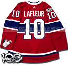 GUY LAFLEUR MONTREAL CANADIENS HOME AUTHENTIC PRO ADIDAS NHL JERSEY <br/> THE 100 GREATEST NHL PLAYERS LIMITED EDITION JERSEY