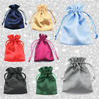 Satin Bags Jewellery Storage Pouches Party Drawstring Gift Making Jewelry Ring