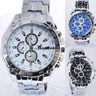 Men's Luxury Stainless Steel Automatic Mechanical Wrist Quartz Watch Fashion image