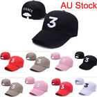 AU New Golf Embroidery Nunber 3 Mens Womens Unisex Adjustable Baseball Cap Hats