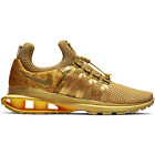 NIB Nike Shox Gravity 'Metallic Gold' women's sneakers