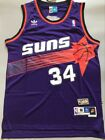 Phoenix Suns Charles Barkley Purple Throwback Swingman Men Jersey Size S M L XL