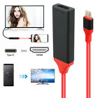 USB 3.1 Type C to HDMI HDTV TV Cable Adapter For Samsung Galaxy S8 S9 + MacBook
