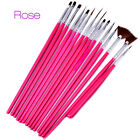 Nail gel art brush uv acrylic pen painting tool manicure drawing set design 3pcs