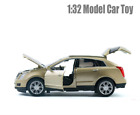 Cadillac SRX SUV 1:32 Metal Diecast Model Car Toy Sound Light Gift Collections