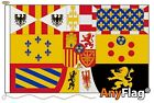 ROYAL STANDARD ALFONSO XIII AND JUAN DE BORBON MADE TO ORDER VARIOUS FLAG SIZES