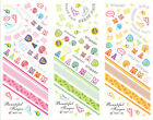 3 in 1 Nail Art Water Transfer Sticker Jinger Bow Decoration Decals