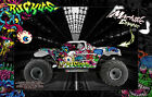 LOSI MONSTER TRUCK XL GRAPHICS WRAP HOP-UP 'RUCKUS' FITS LOS250015 BODY PARTS