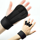 Sports lifting Gym Gloves Training Fitness Wrist Wrap Workout Exercise Sport