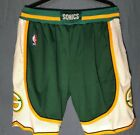 Seattle Supersonics Vintage NBA Green Basketball Jersey Shorts