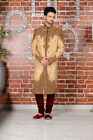 Indian Traditional Bollywood Wedding Wear Gents Wedding Sherwani Dress India