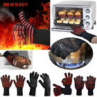 Hot BBQ Grilling Cooking Gloves Extreme 932℉ Heat Resistant oven Welding Gloves