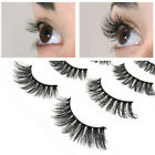 5 Pairs False Eyelashes Long Seamless Durable Black Eye End Extended Makeup Tool