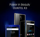 Oukitel K3 6000mAh 4+64GB 5.5inch Android 7.0 Octa-Centre Smart 4 Cams cellphone