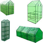 Small/Large PVC Plant Flower Grow Bag Greenhouse W/  Powder coated steel Frame