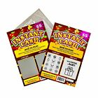 Kyпить Pregnancy Announcement Fake Lottery Scratch Off Tickets, 4x6