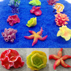 Lots Artificial Coral Fish Tank Ornament Accessories Aquarium Landscape Decor