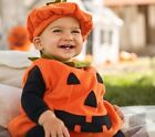 USA Toddler Baby Girl Boy Pumpkin Tops Outfit Party Fancy Dr