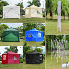 3x3m Pop Up Gazebo Marquee Waterproof Garden Awning Party Tent Canopy Shade