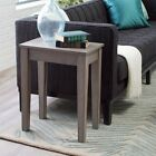 3 Piece Gray Lift-Top Coffee Table Set Living Room Accent Furniture Collection