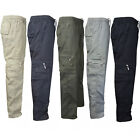 Men Combat Cargo Military Pants Army Camouflage Casual Cotton Workwear Trousers