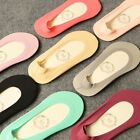 5 paris = 10 pieces of Korea non-trace summer, shallow mouth ice silk socks slip