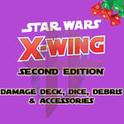 Kyпить 50% OFF! X-Wing Miniatures Game 2.0 2nd Edition Supplies - Debris Med Stands etc на еВаy.соm