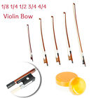 New Professional 1/4 1/8 1/2 3/4 4/4 Size Arbor Horsehair Violin Cello Bow