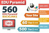 More images of High Authority Edu Pyramid With 560 Edu Backlinks & Wiki Backlinks