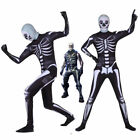 Fortnite Halloween Costume Skull Trooper Child's Kids *SHI