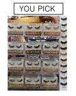 """3D Effect Real Mink Eyelash( 12Styles Available ) """"AURA Luxurious"""" - YOU PICK !! $10.99 USD on eBay"""